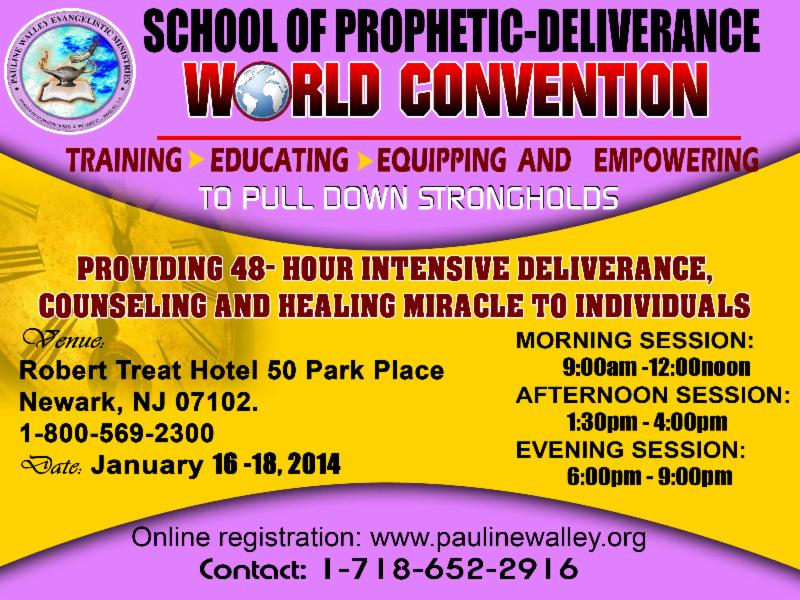 14 days Prophetic Deliverance Fast for S.O.D. 2014