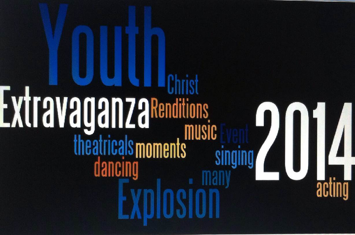 Extra Extra Read All About It: Youth Extravaganza Is Approaching Rapidly