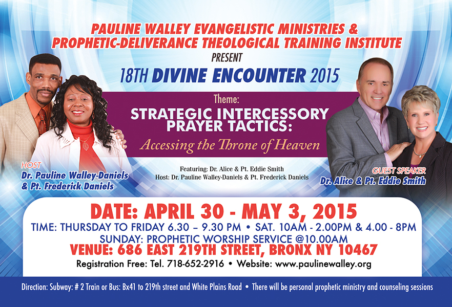 Day 1 of the 18th Annual Divine Encounter 2015