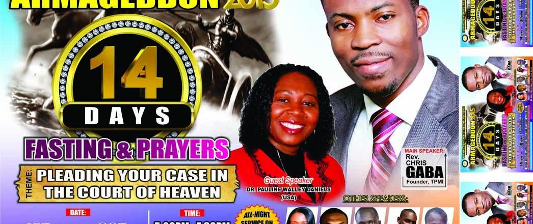 Fasting & Prayer with Pt. Chris Gaba & Dr. Pauline Walley-Daniels