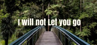 """""""I will not go with you"""""""