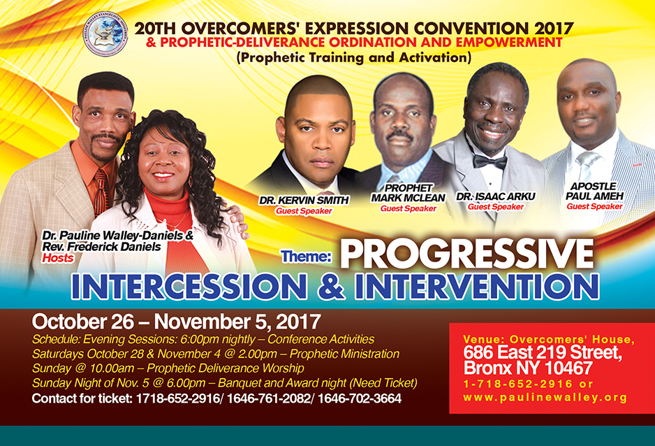 20th Overcomers' Expression Convention 2017
