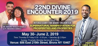 22ND DIVINE ENCOUNTER 2019