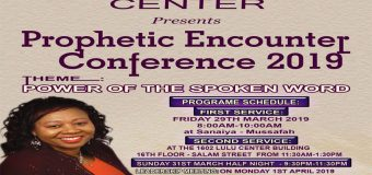 Prophetic Encounter Conference 2019