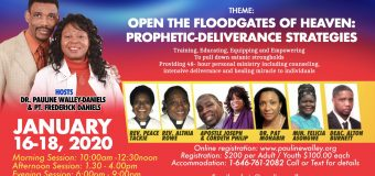 15TH SCHOOL OF PROPHETIC-DELIVERANCE(WORLD CONVENTION 2020)