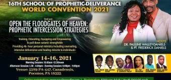 15th SCHOOL OF PROPHETIC DELIVERANCE WORLD CONVENTION