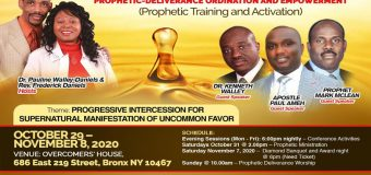 23rd OVERCOMERS' EXPRESSIONS CONVENTION 2020